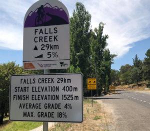 Falls cycle signage